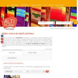 Tous les circuits Guatemala - Altiplano Voyage