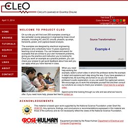 CLEO - Circuits Learned by Example Online