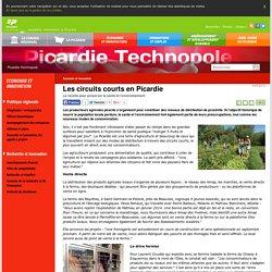 CONSEIL REGIONAL DE PICARDIE - 2015 - Les circuits courts en Picardie