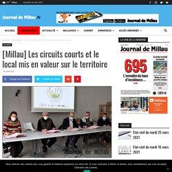 JOURNAL DE MILLAU 26/03/21 [Millau] Les circuits courts et le local mis en valeur sur le territoire