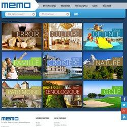 Nos circuits et voyages thématiques - MEMO