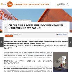 Circulaire professeur documentaliste : l'Arlésienne est parue ! - Fédération Sgen-CFDT