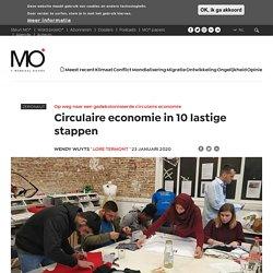 Circulaire economie in 10 lastige stappen - MO*