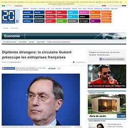 PARIS - Diplômés étrangers: la circulaire Guéant préoccupe les entreprises françaises