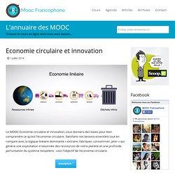 MOOC Economie circulaire et innovation