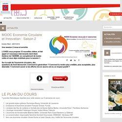 ADEME Formation - Actualité - MOOC Economie Circulaire et Innovation : Saison 2