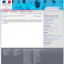Circulaire interministérielle DGCL/DACS/DHOS/DGS/DGS/2009/182