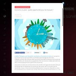 Economie circulaire : quelles opportunités pour les marques ?
