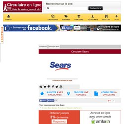 Circulaire Sears