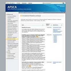 AFSCA 15/02/16 Expertise des porcs La circulaire a pour but d'attirer l'attention sur la mise en oeuvre d'une inspection des viandes de porc basée sur une évaluation des risques et sur les conditions pour une telle inspection.