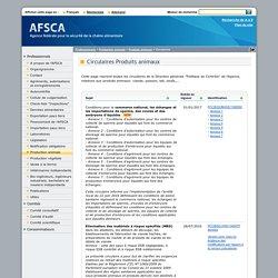 """AFSCA 09/06/16 Circulaire """"Produits animaux"""" - Inspection visuelle des bovins âgés de moins de 8 mois"""