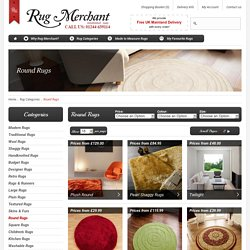 Round Rugs, Circular Rugs, Circle Rugs - Rugmerchant.co.uk