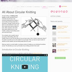 All About Circular Knitting - Laylock Knitwear Design