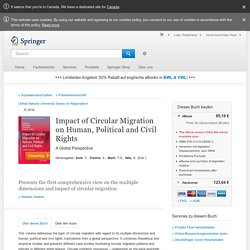 Impact of Circular Migration on Human, Political and
