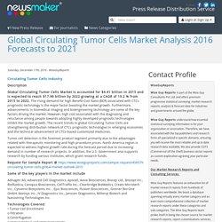 Global Circulating Tumor Cells Market Analysis 2016 Forecasts to 2021
