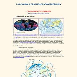 La circulation atmosphérique générale