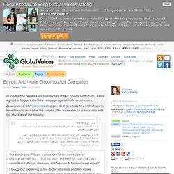 Egypt: Anti-Male Circumcision Campaign
