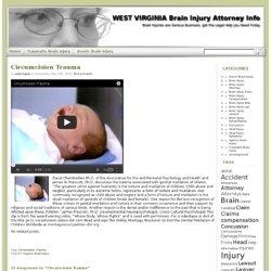Circumcision Trauma Brain Injury Attorney Info