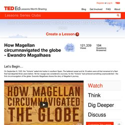 How Magellan circumnavigated the globe - Ewandro Magalhaes