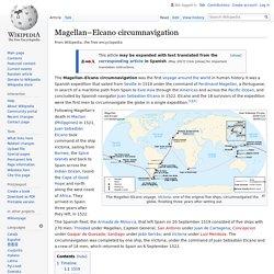 Magellan–Elcano circumnavigation - Wikipedia