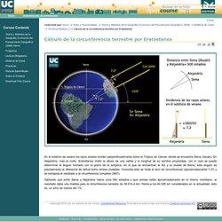 Cálculo de la circunferencia terrestre por Eratóstenes