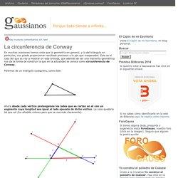 La circunferencia de Conway