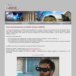 Salle réalité virtuelle université de Caen