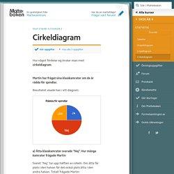 Cirkeldiagram (Skolår 4, Statistik)