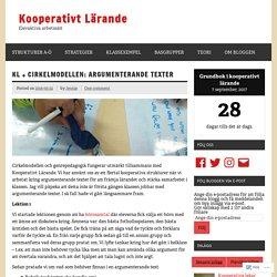 KL + cirkelmodellen: Argumenterande texter – Kooperativt Lärande