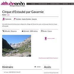 Cirque d'Estaubé par Gavarnie