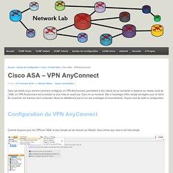 Cisco ASA – VPN AnyConnect