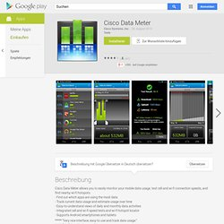 Cisco DataMeter Beta - Android Apps on Google Play