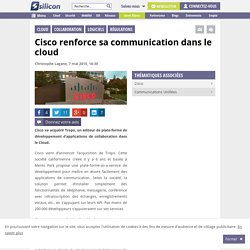 Cisco renforce sa communication dans le cloud