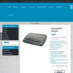 Cisco1603 buy used new cisco 1603 router Toronto Canada