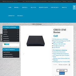 Cisco3745 buy used new Cisco 3745 router Toronto Canada
