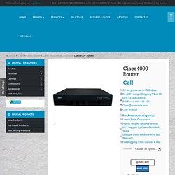 Cisco4000 Router