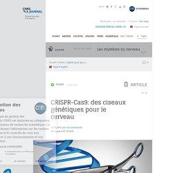 CRISPR-Cas9: des ciseaux génétiques pour le cerveau