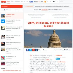 CISPA: Next Steps