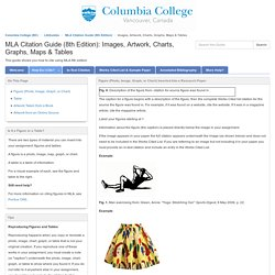 Images, Artwork, Charts, Graphs, Maps & Tables - MLA Citation Guide (8th Edition) - LibGuides at Columbia College (BC)