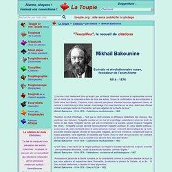 Citations : Bakounine