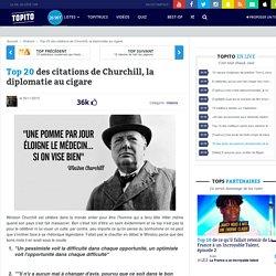 Top 20 des citations de Churchill, la diplomatie au cigare