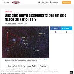 LIBERATION - Une cité maya découverte par un ado grâce aux étoiles?