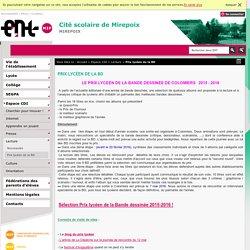 CITE SCOLAIRE DE MIREPOIX - Prix lycéen de la BD