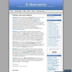 CiteULike, web social académica