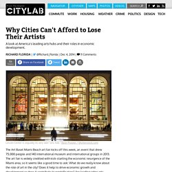 Why Cities Can't Afford to Lose Their Artists