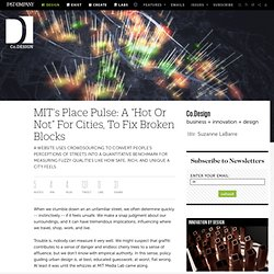 "MIT's Place Pulse: A ""Hot Or Not"" For Cities, To Fix Broken Blocks 