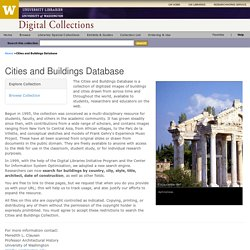Cities and Buildings Database