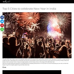 Top 5 Cities to celebrate New Year in India