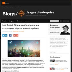 Les Smart Cities, un atout pour les communes et pour les entreprises