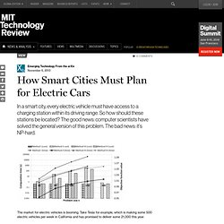 How Smart Cities Must Plan for Electric Cars